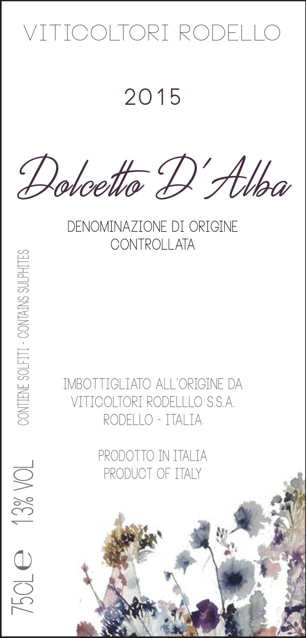 DOLCETTO D'ALBA DOC