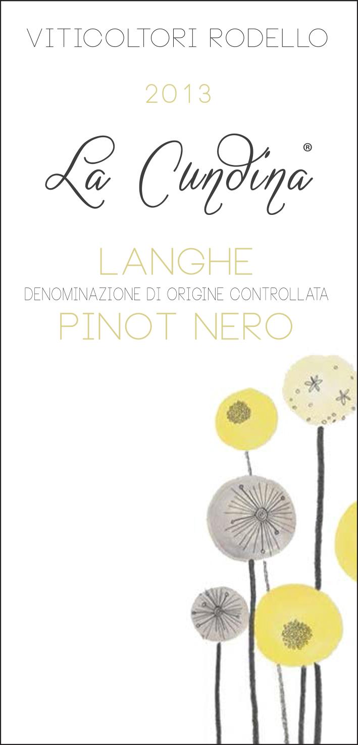 "LANGHE DOC PINOT NERO ""LA CUNDINA"""